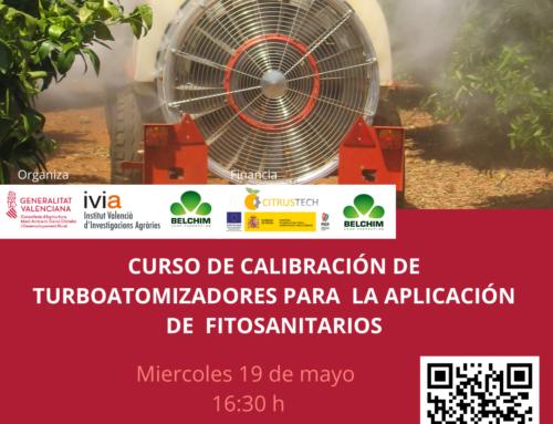 Curso de calibración de turboatomizadores para la aplicación de fitosanitarios en cítricos